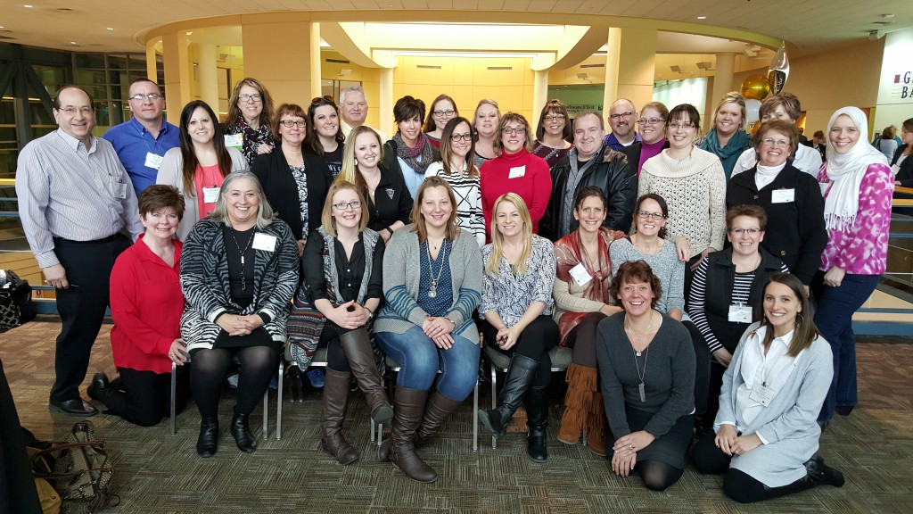 A few of the wonderful souls that make up the leadership of St. Francis Health Services at Leading Age MN Annual Institute in St. Paul MN; making a difference every single day.